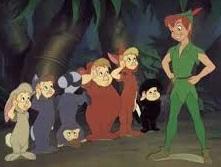 Peter pan y los niños perdidos